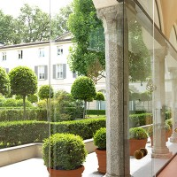 The courtyard, Four Seasons Hotel Milano