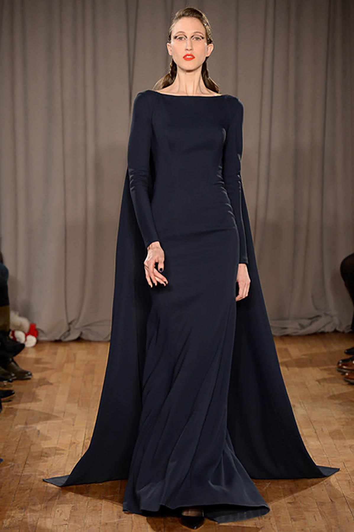 Black Tie Long Dress