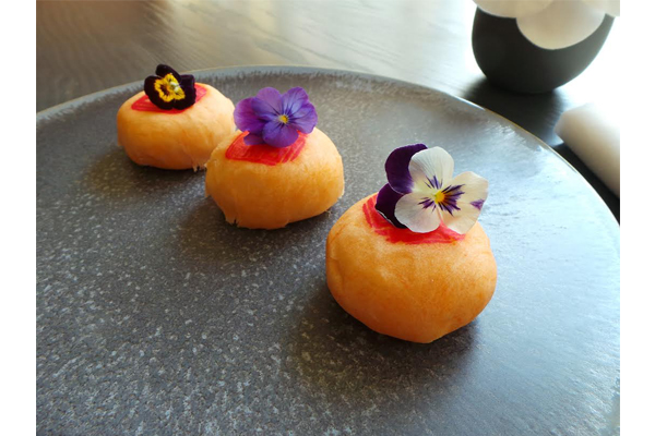 Moon cakes at HKK, in celebration of the mid-autumn festival