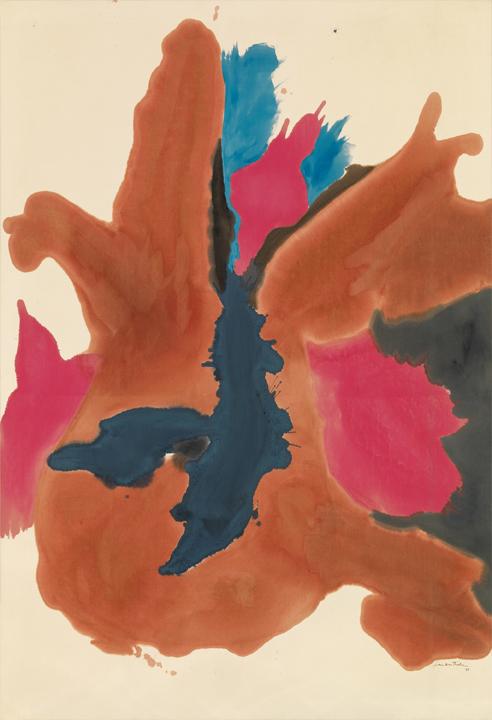 Frankenthaler, Pink Lady, 1963