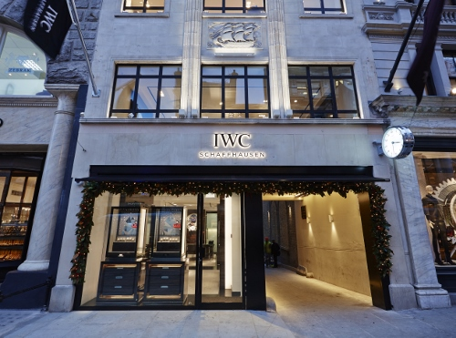 IWC BOUTIQUE LONDON