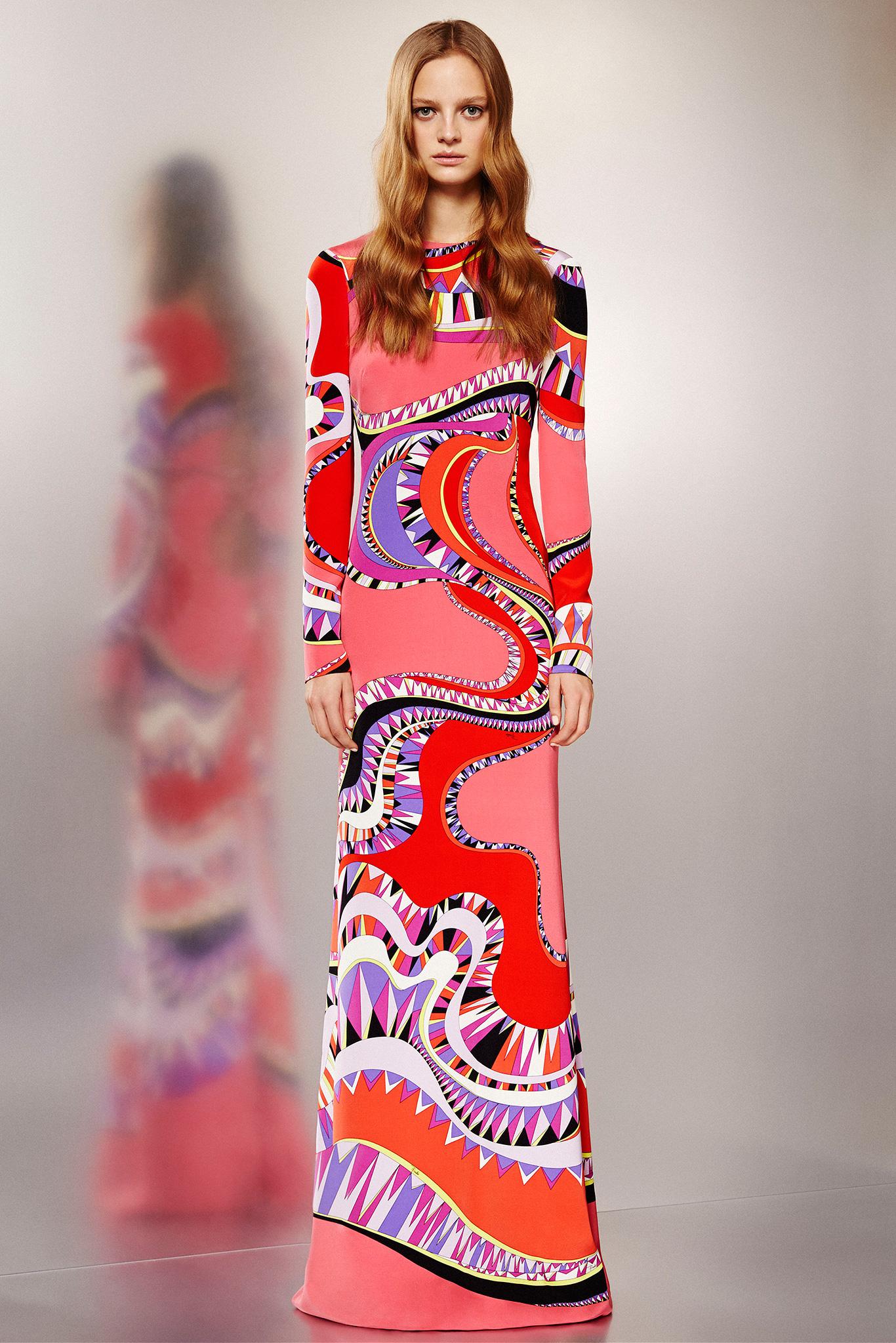 Emilio Pucci Pre Fall 2015  The Glass Magazine - Casual Dress