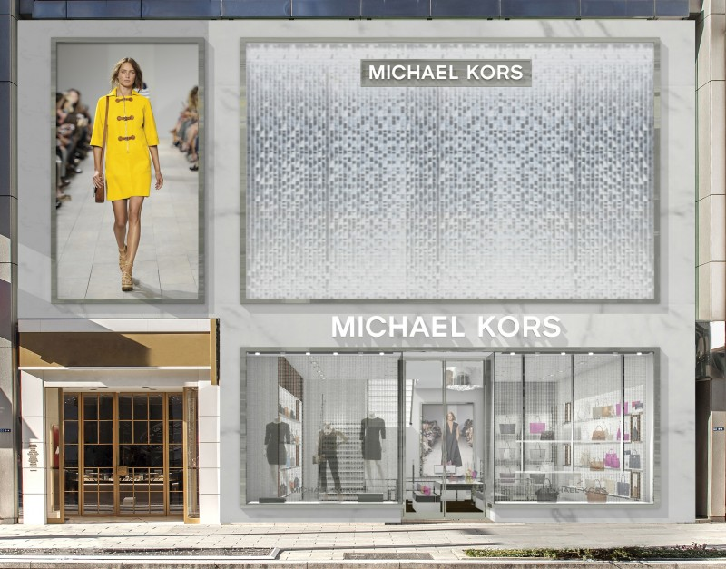 michael kors to open full category flagship in japan s ginza the glass magazine. Black Bedroom Furniture Sets. Home Design Ideas