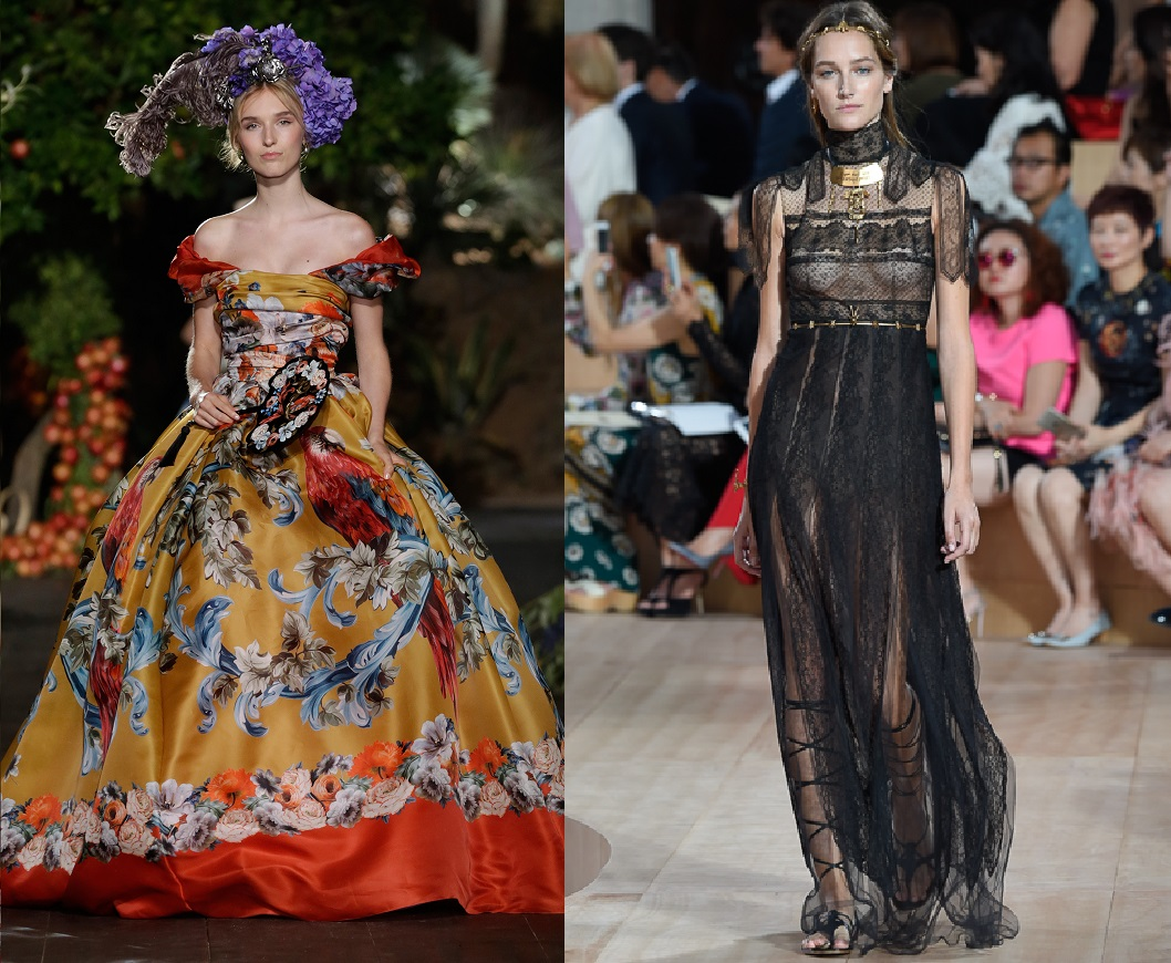 Dolce & Gabbana and Valentino go off schedule for Fall 2015 Haute ...