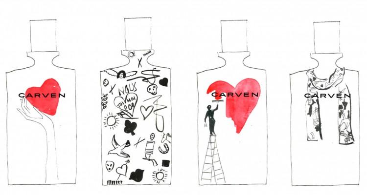 Carven bottle personalisation