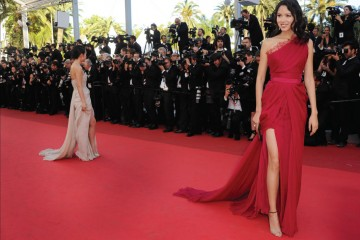 Actress Zhang Zi in Elie Saab Haute Couture, Photograph courtesy of Elie Saab