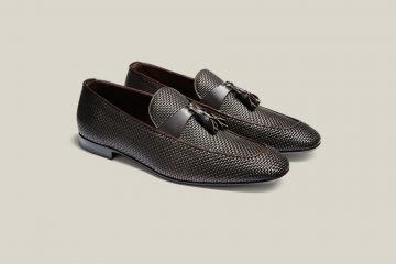 dark-brown-woven-leather-loefers