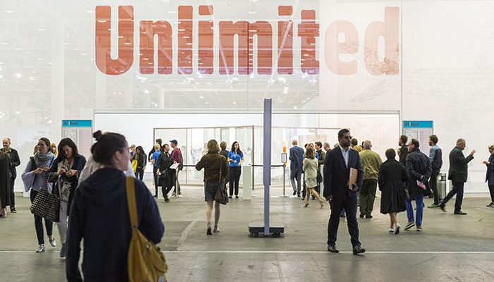 Unlimited at Art Basel 2016. Courtesy Art Basel