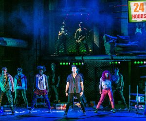 Newton Faulker (Johnny) and cast - American Idiot UK Tour - Photo by Darren Bell (288)