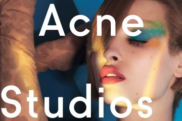 Front Cover. Acne Studios Fall/Winter Campaign