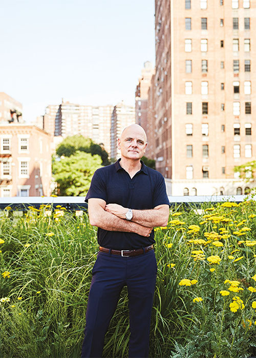 James Corner photographed in New York City for Glass by Ben Rosenzweig