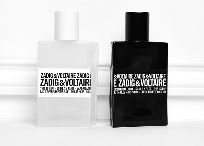 glass gets a lesson in fragrance with fashion brand zadig voltaire s duo of the year the. Black Bedroom Furniture Sets. Home Design Ideas