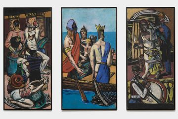 Max Beckmann in New York Beckmann Departure Museum of Modern Art New York