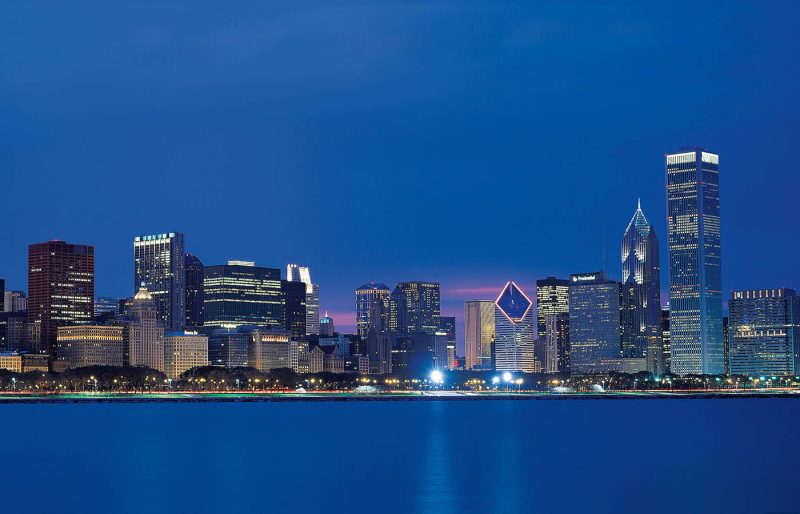 Front Cover. Chicago Skyline Credit Choose Chicago.