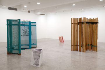 FRONT COVER Martin Boyce Installation View Winter Palms, Tanya Bonakdar Gallery, New York 2011