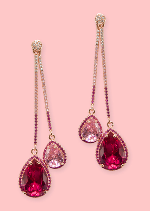 Lara Heems Tear Drop Earrings
