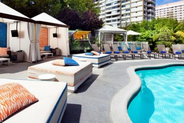 W Hotel, West Beverly Hills, Los Angeles, CA, United States of America, WET pool