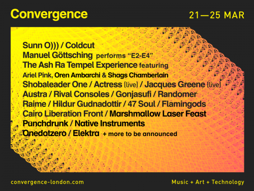 convergence lineup
