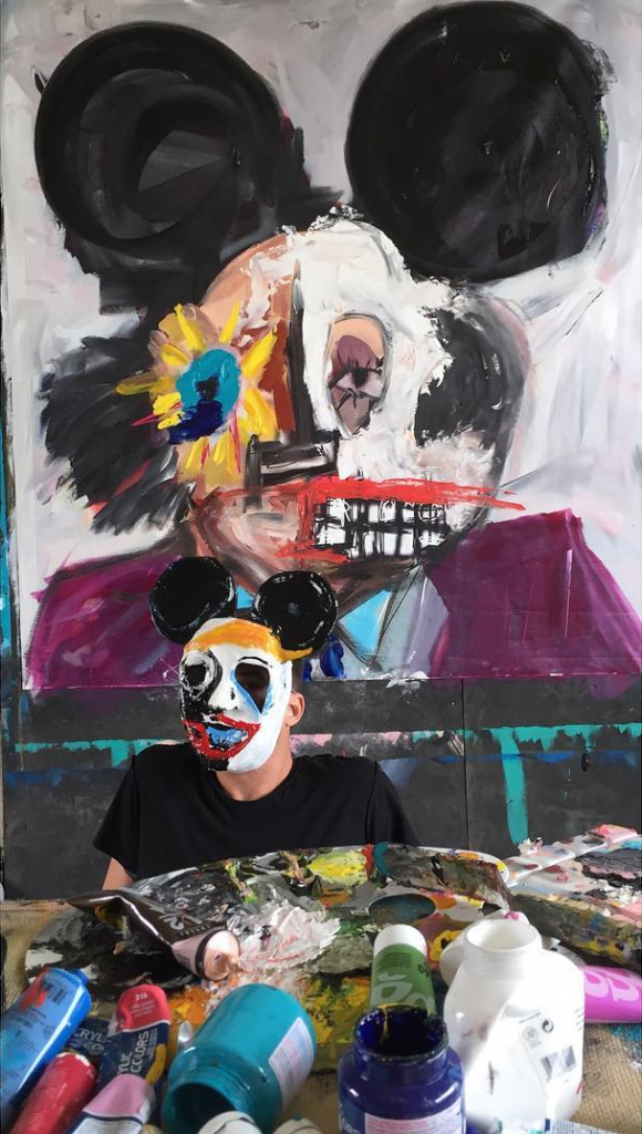 John Paul Fauves Self Portrait