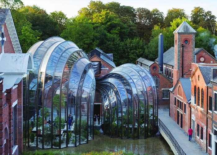 STORYPicture- Architecture with a Difference - Bombay Sapphire Destillery