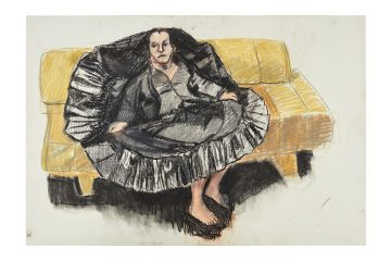 Feature picture Paula Rego, Depression Series, One, 2007, pastel on paper, 68.5 x 101 cm,