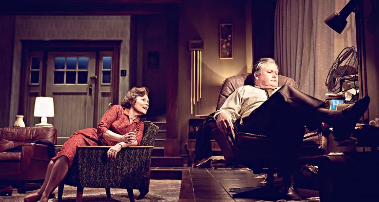 Feature picture Imelda Staunton and Conleth-Hill-in-Edward Albees Whos Afraid of Virginia-Woolf.