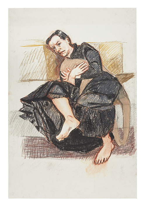 Story picture Paula Rego, Depression Series, Five, 2007, pastel on paper, 101.5 x 68.5 cm,