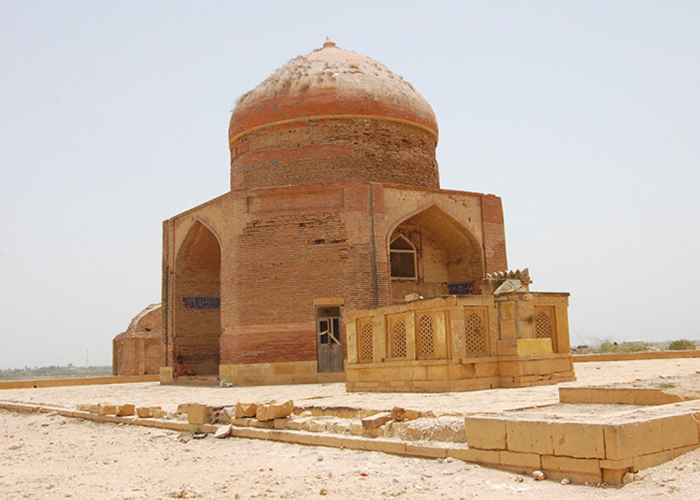 Story pic Glass Equality Conversation project - a 16th century Timurid tomb of Sultan ibrahim, Word Heritage Makli,Thatta, Photograph courtesy of the Heritage Foundation