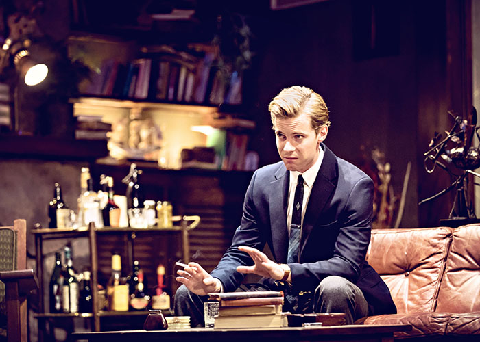 Story picture 7 Luke Treadaway in Edward Albees