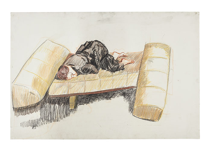 story pic Paula Rego, Depression Series, Nine, 2007, pastel on paper, 68.5 x 101.5 cm,