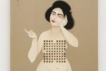 Equality Bab on Sheikh, 2013, oil on modular panel, 103 x 176 inches Hiyw Kahranam