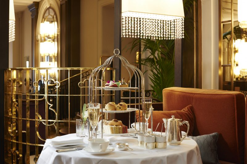Glass takes Jazz Afternoon Tea during Sheraton Grand London Park Lane