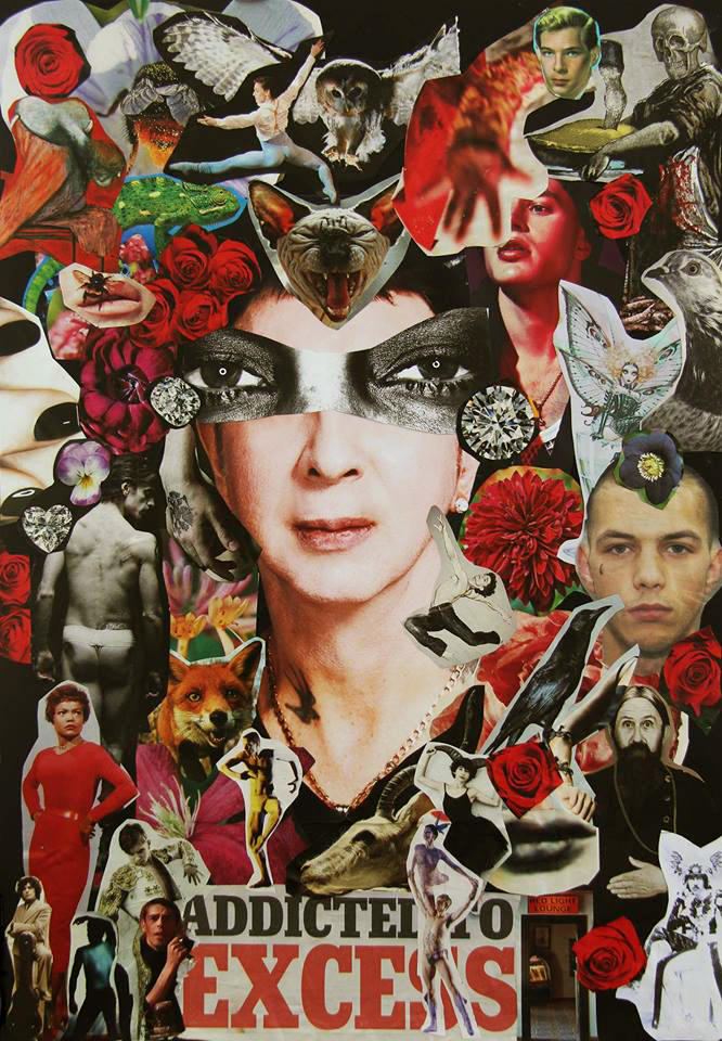 Marc Almond collage