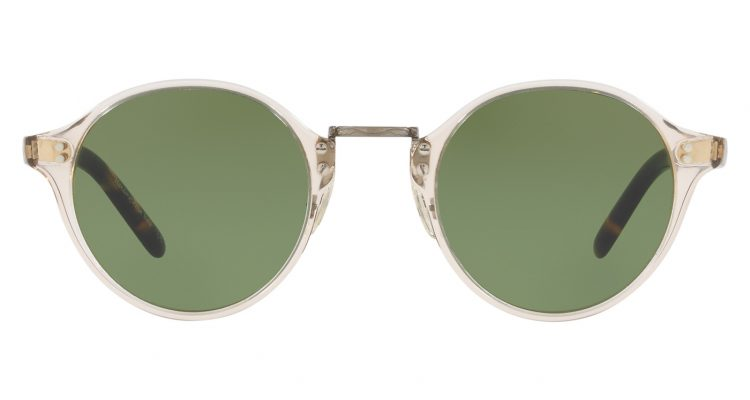 Oliver Peoples 1955 SUN Buff Vintage DTB Antique Gold Green C MAIN SLIDE
