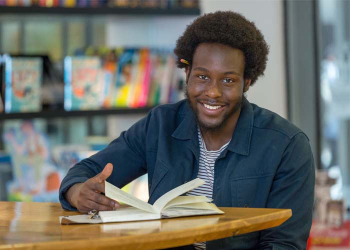 Glass meets Caleb Femi – a Young People's Laureate for London