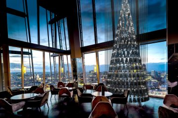 Photo credit:  'The Tree of Glass' by Lee Broom with Nude at aqua shard