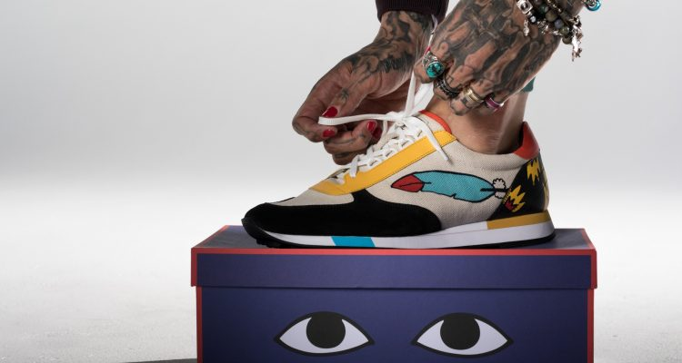 Bally x Swizz (Gavino sneaker and shoe box)_Original