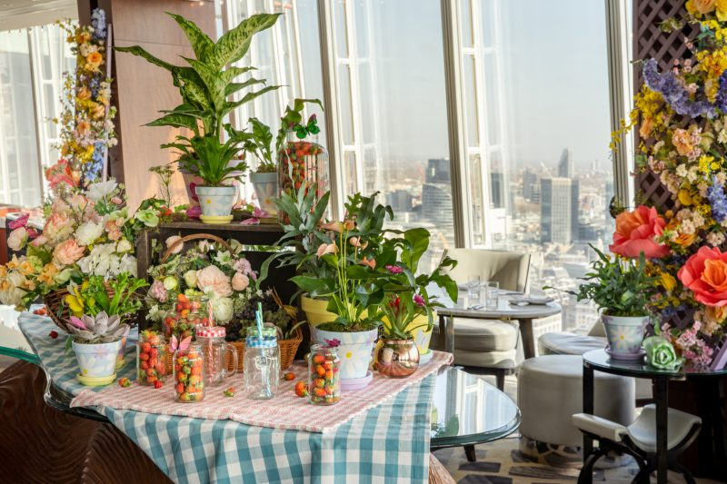 Spring into the clouds at Shangri-La hotel at The Shard, Londonjpg