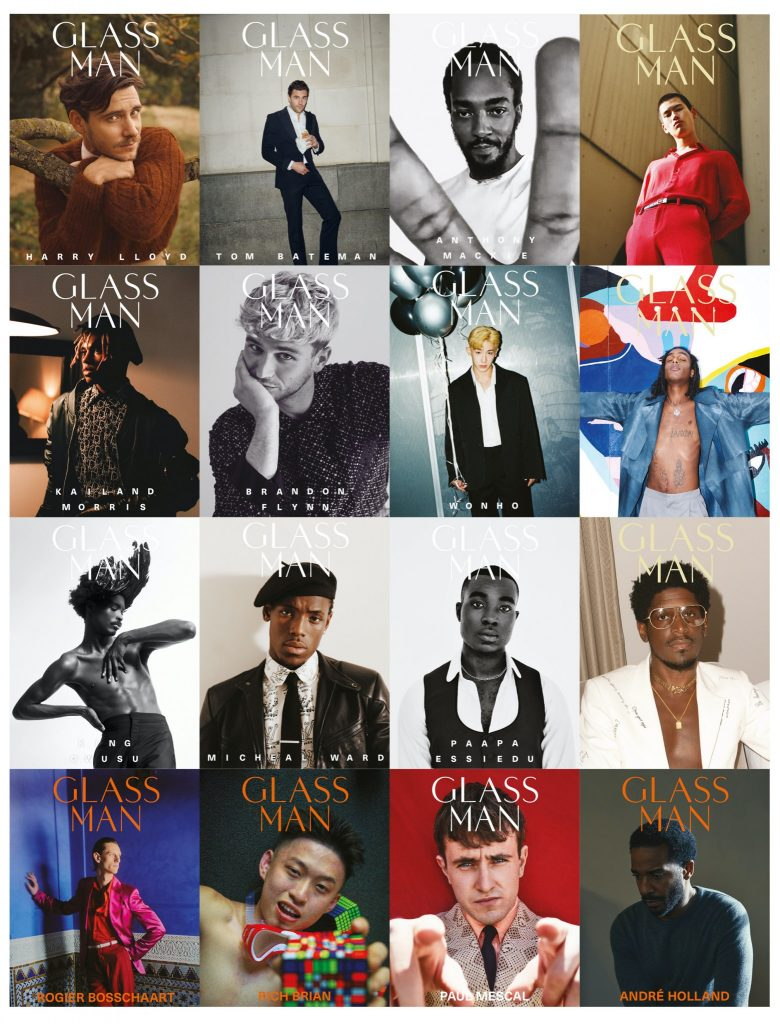All covers from Glass Man 2020