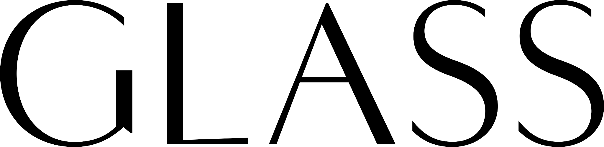 The Glass Magazine logo