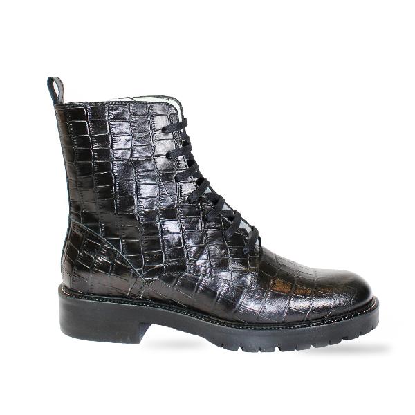 The Festival Boot in Black