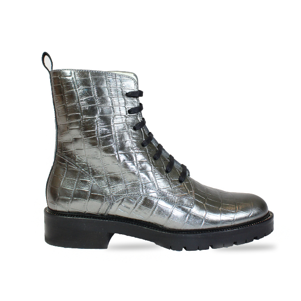 The Festival Boot in Silver