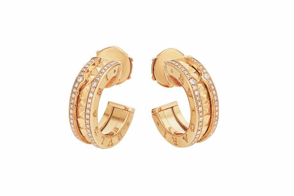 Bulgari B-Zero 1 Rock 18Kt Yellow Gold Earrings