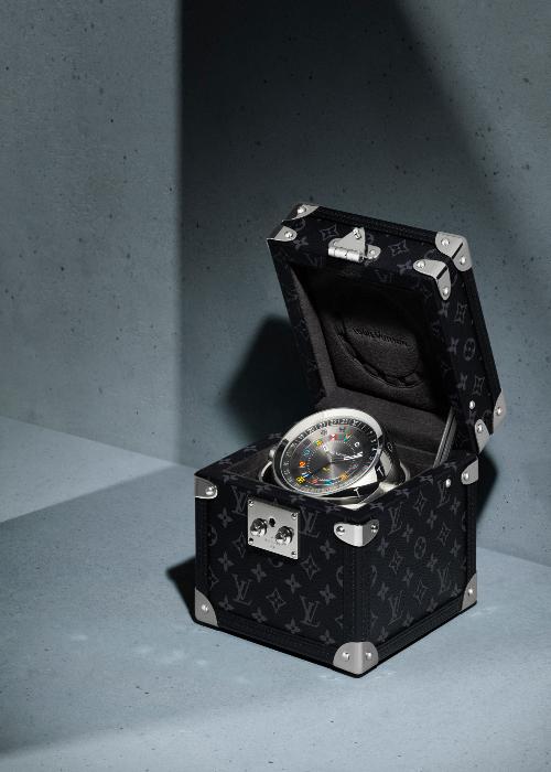Louis Vuitton Trunk Table Clock