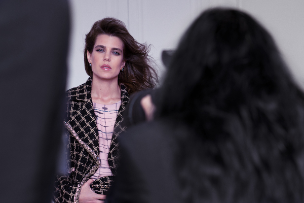 Chanel's new 2021 ambassador, Charlotte Casiraghi