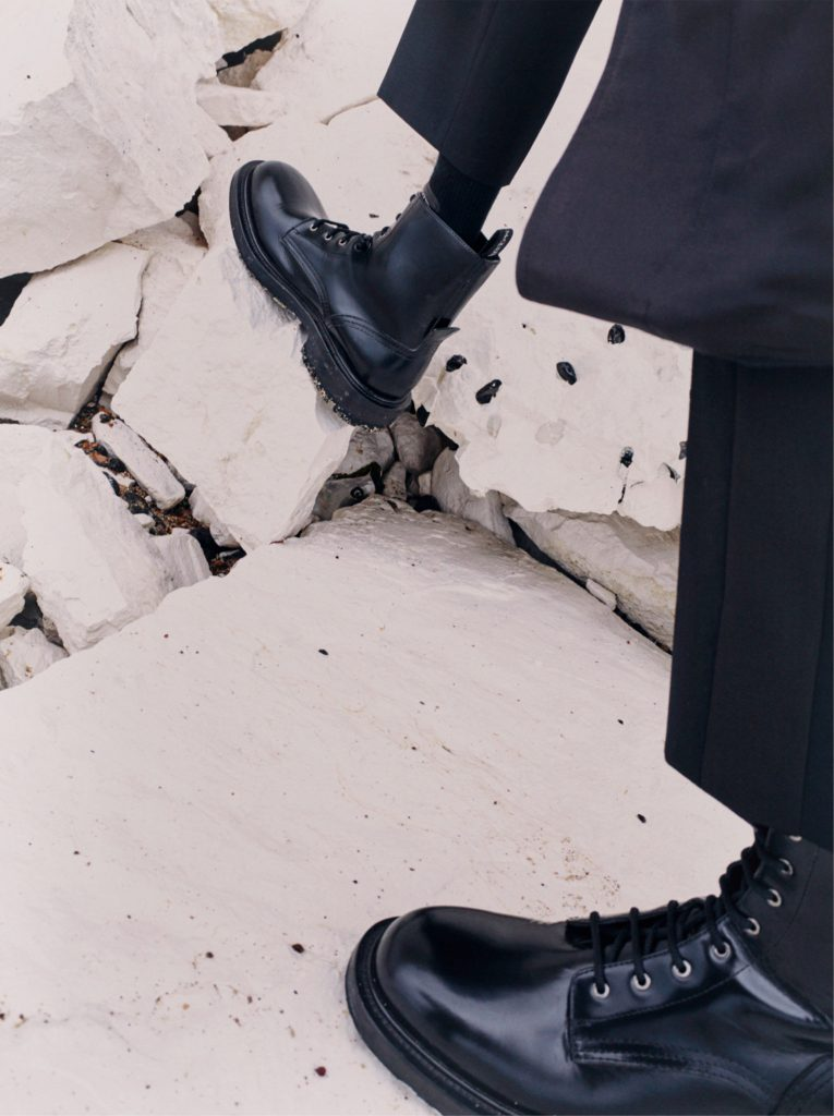 McQueen Worker Boot by Chloe Le Drezen
