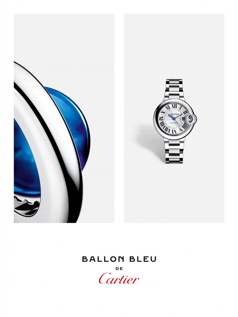 Ballon Bleu Cartier Campaign 2021