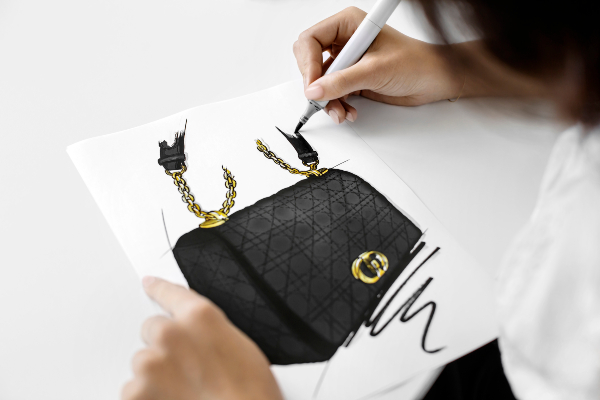 The making of the Dior Cato bag