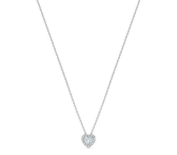 De Beers Heart-shaped Diamond Pendant