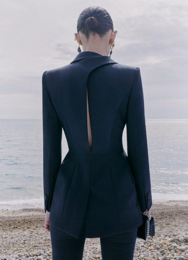 Alexander McQueen Tailoring; photographed by Chloe le Drezen